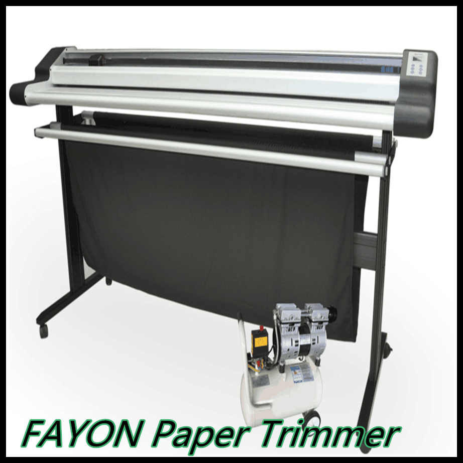 Electric paper roll to sheet cutting machine/paper cutter for KT board/PVC/paper