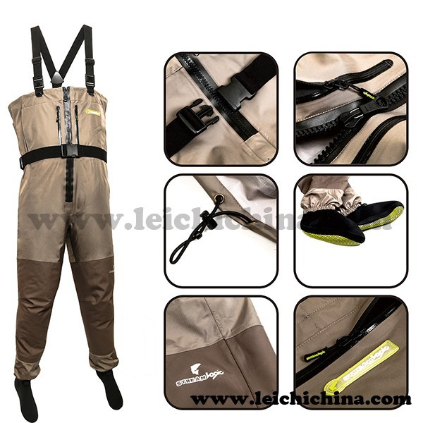 Wholesale Custom Chest Neoprene Breathable Fly Fishing Wader