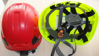 ABS material working aloft rescue helmet with CE APPROVED