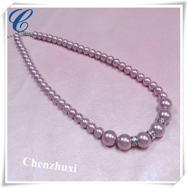 Chenzhuxi pearl necklace mother's day promotional items