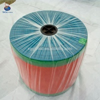 Durable plastic raschel mesh net bag in rolls