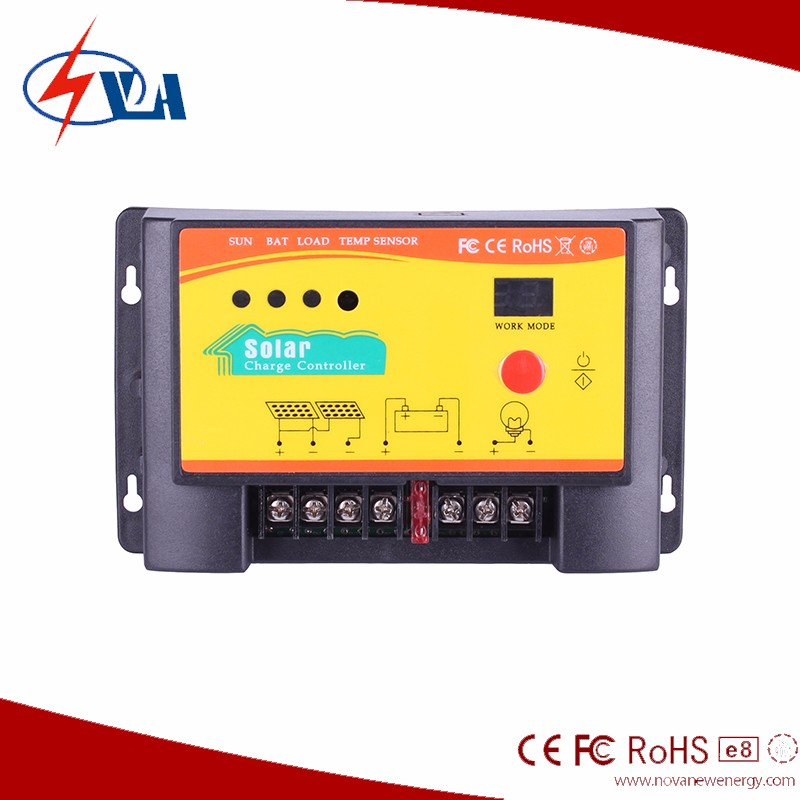 12/24v auto 30a PWM solar charge controller/solar regulator
