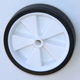 "progressive 6x1.5"" solid rubber wheels with plastic hub for lawnmower"