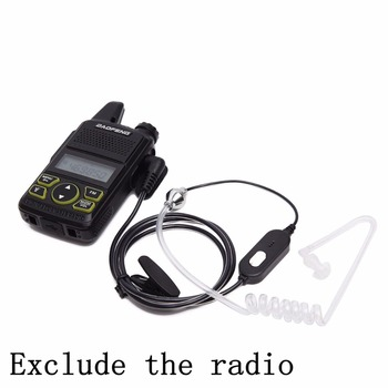 Baofeng BF-T1 1 Pin Air Acoustic Tube Earpiece Headset For Baofeng BF-T1 BF-T8 UV-3R Plus Mini Radio Walkie Talkie BFT1