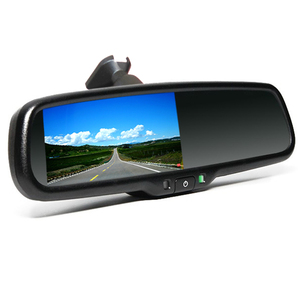 Car Rearview Mirror With Parking Camera For Honda Civic