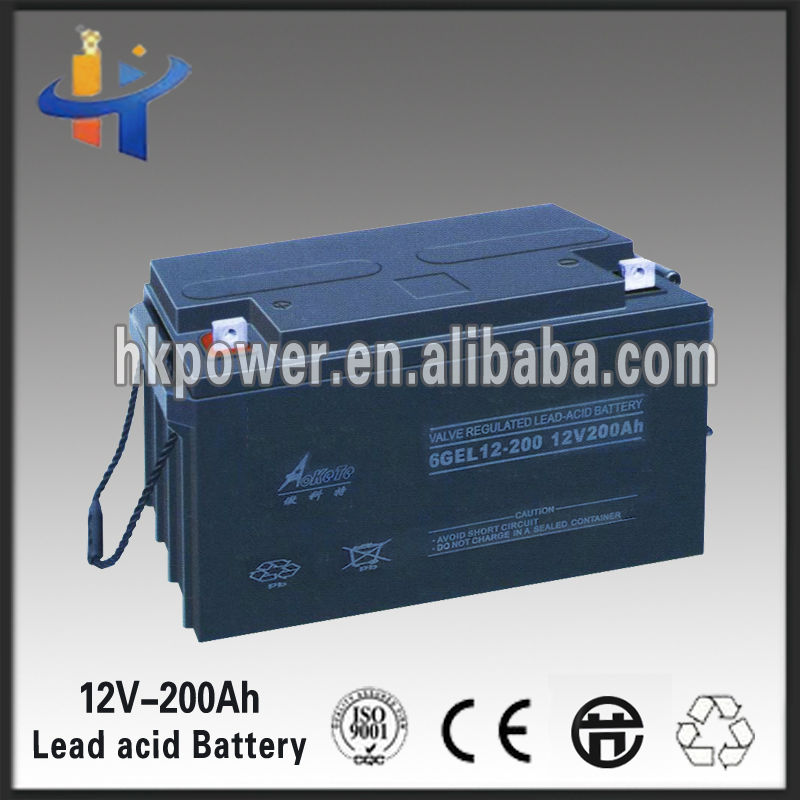 Best price 12v 200ah korean car battery