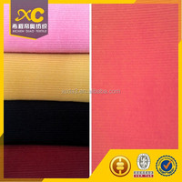 good stretch colorful 16 wale corduroy fabric for shirt