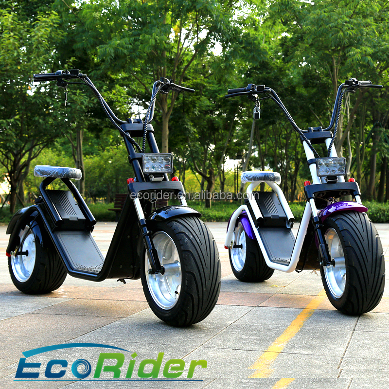 EEC Certification electric scooter 1200w citycoco scooter halei scooter with removeable battery