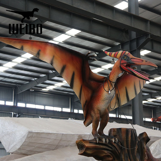 Adventure park animatronic artificial dinosaur for sale