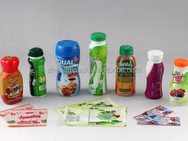 High quality PET heat shrink sleeve label for bottle