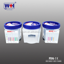 2017 hot sale WH Eco III one step Drug of abuse multi-drug screen Urine cup test kits with FDA & CE Marked
