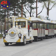 China limeiqi Cheap Electric Trackless Road Diesel Tourist Train for sale