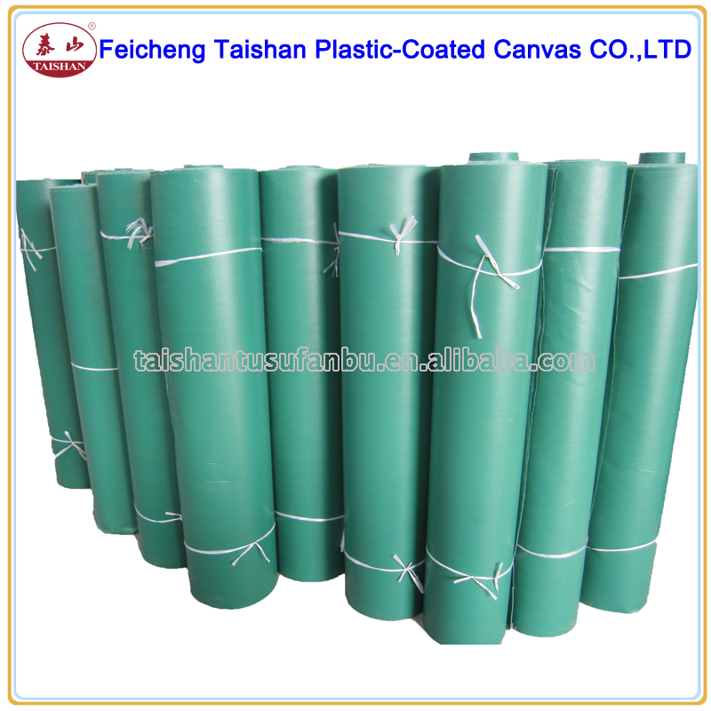 high quality China factory waterproof PVC coated fabric rolls PVC tarpaulin rolls