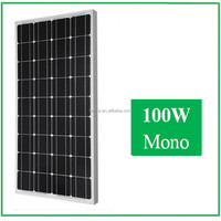 High Efficiency and good price 100W mono Solar photovoltaic cell for home use