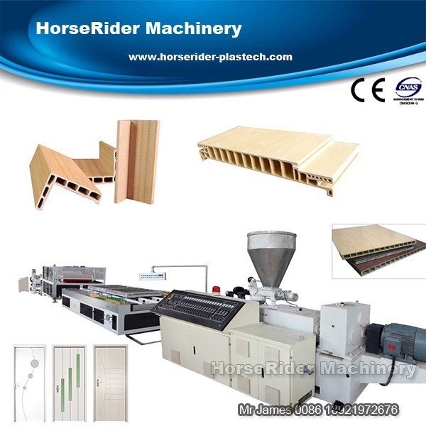Hot sale PVC profile machine for windows and doors