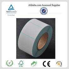 Custom Perforated barcode adhesive label for barcode printer