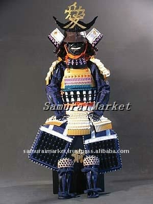 Authentic Japanese Child Armor: Naoe Armor&Helmet