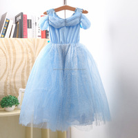 Latest Fashion Cinderella Dress for Girls Party Dress Fancy Costume with Butterfly GD50613-3