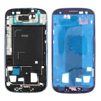 Blue Front Frame Bezel Chassis Replacement Part for Samsung Galaxy S3 III i9300 housing