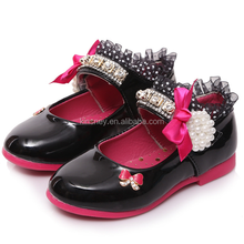 KS40243S New arrival crystal design casual cute kids import shoes