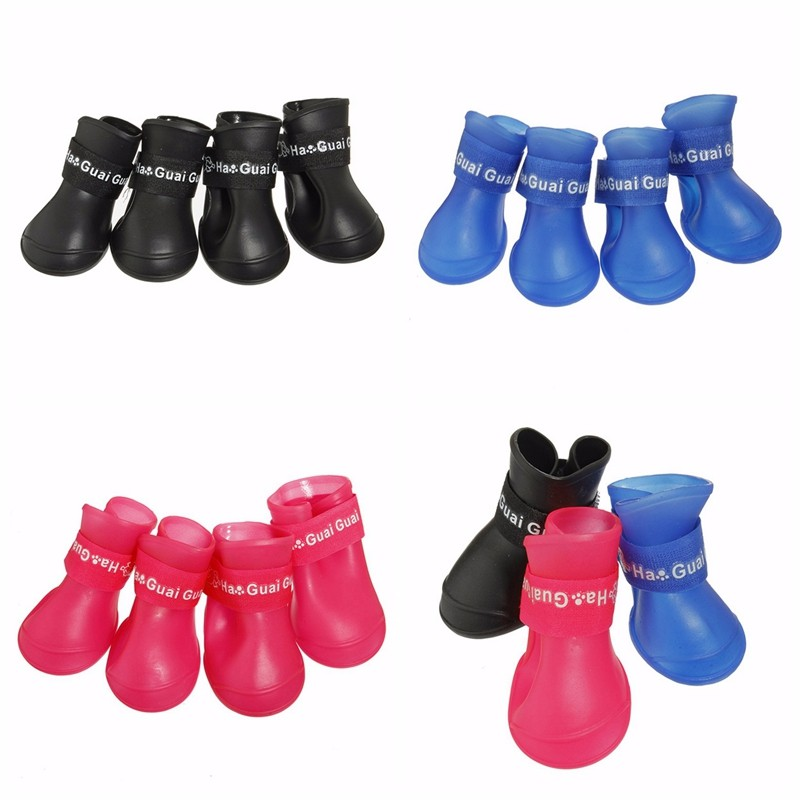 Yiwu factory new product waterproof dog shoes breathable pet dog boots shoes