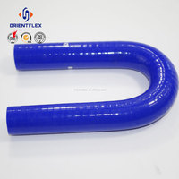Competitive price colorful high pressure universal silicone fuel hose China supplier
