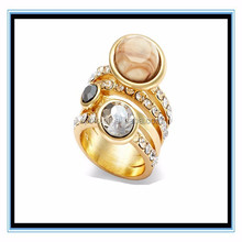 Gold filled jewely simple gold ring designs XP-PR-886
