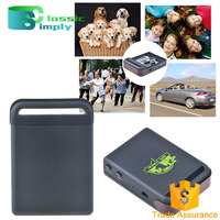 Quad Band Cheap Mini Sms Reset GPS Tracker tk102 for Personal with Two Way Voice Calling