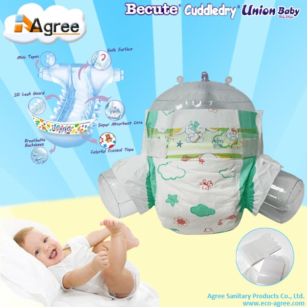 Baby product wholesale disposable sweet baby diaper
