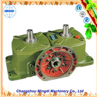 changzhou machinery WPO/WP Cast Iron small Worm Transmission Gearbox Parts with diesel engines for soap extruder