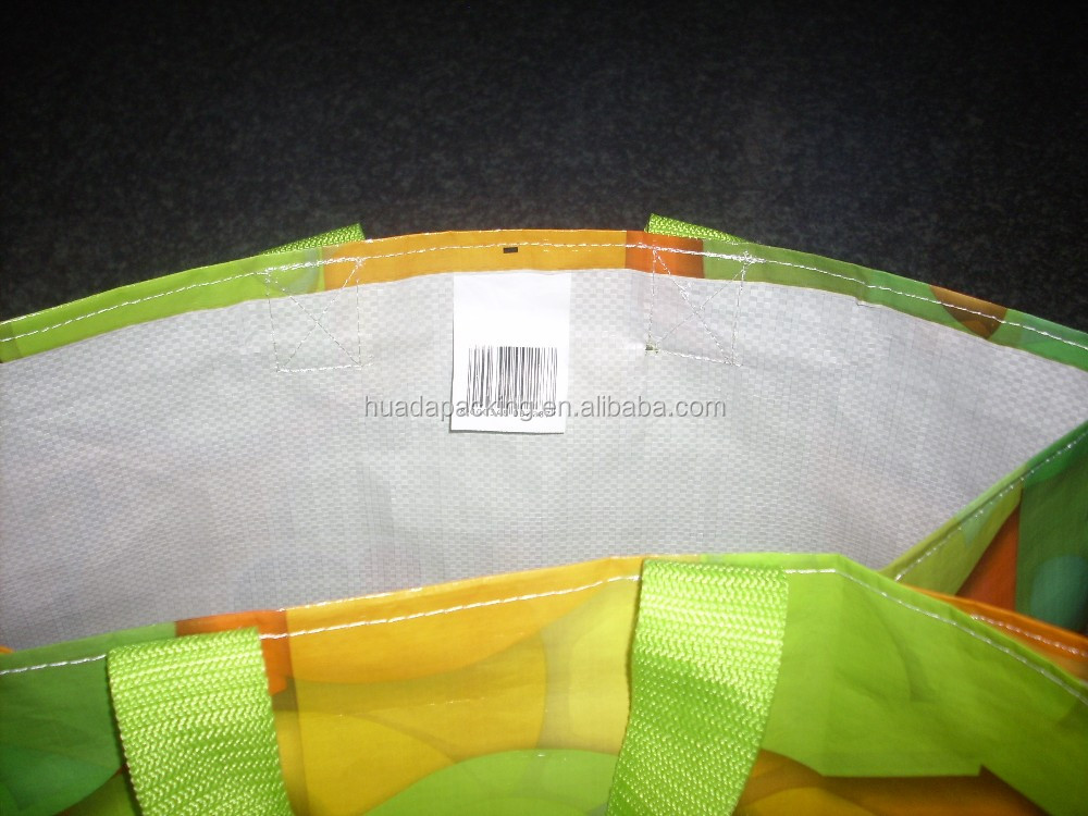new design reusable laminated pp nonwoven bag