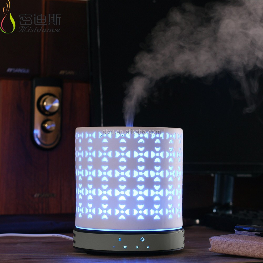 Home ozone sterilizer water based air purifier ceramic stone aroma essential oil diffuser