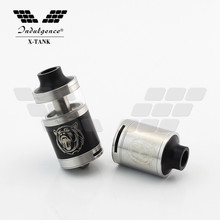 25mm top fill bottom airflow indulgence x-tank rta and rda 2 in 1 e-sigaret