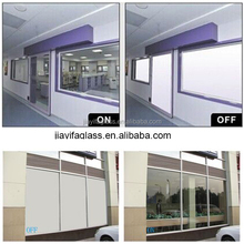 Switchable transparent smart Glass for projection screen,building glass