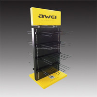 metal Floor display stand new concept for 2017 year las Vegas fair