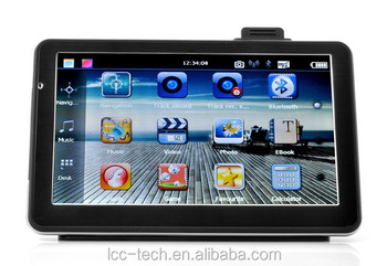 New function !!! 7 inch DVR car gps navigation with camera recorder, Sat Nav GPS