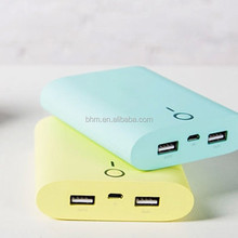 4800mAh Candy Power Bank battery external charger backup Bateria Powerbank,Carregador Portatil Para Celular
