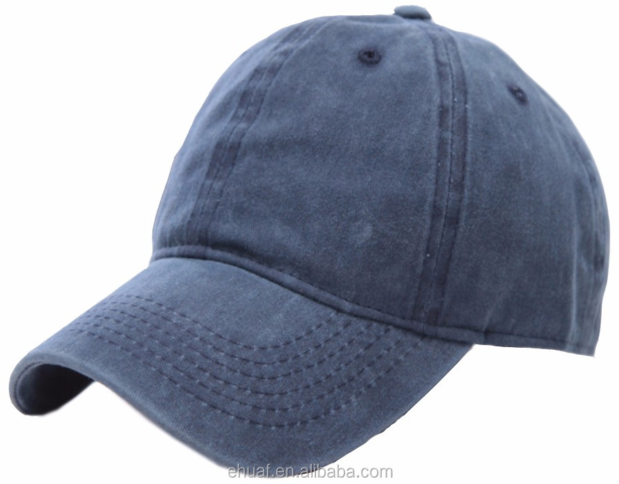 Hot wholesale cotton wash vintage adjustable buckle plain distressed baseball <strong>cap</strong>