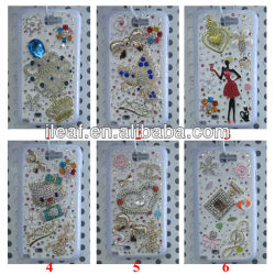 For Samsung Galaxy Note II N7100 Bling bling case many design