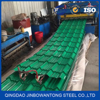 china factory Supplier prepainted corrugated gi color roofing sheets
