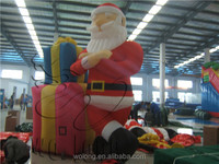 2014 Famous Newly Design Outdoor Inflatable Sitting Santa / Inflatable Santa Claus / Santa Claus