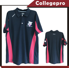 school fashion short sleeve sport wear embroider logo polo shirts
