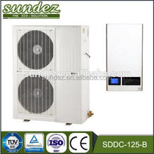 DC inverter air to water heat pump 17.2KW Sundez heat pump