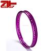 CNC Machining 17 Inch Motorcycle Aluminum Rim, Replacement Purple Motorcycle Alloy Wheels