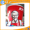 Hot sale advertising inflatables/inflatable ground balloon/KFC inflatable bottle