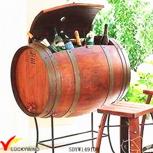 handcraft cask antique storage wooden barrel