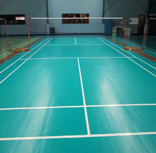 4.5mm basketball Indoor synthetic gym resin flooring roll covering