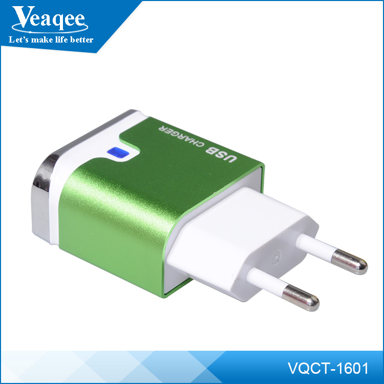 Veaqee hot sale 5v 2a eu usb wall charger home charger micro usb travel charger