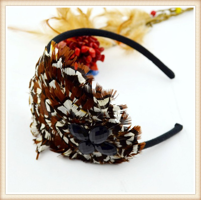 fashion new product sinamay hair fascinator for lady decoration 2014 hotsale