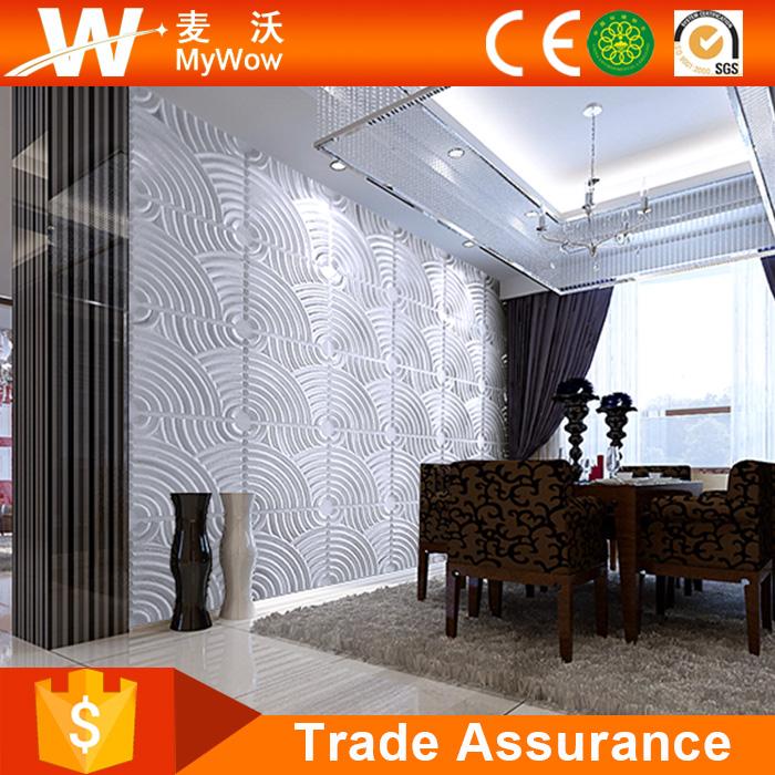 interior design materials house decoration 3d wall panels